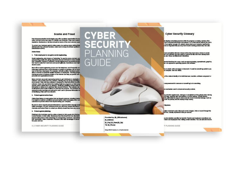 cyber security planning guid